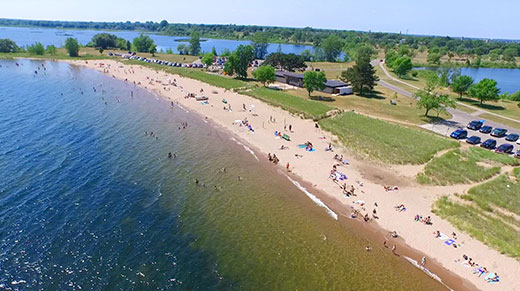 escanaba-beaches