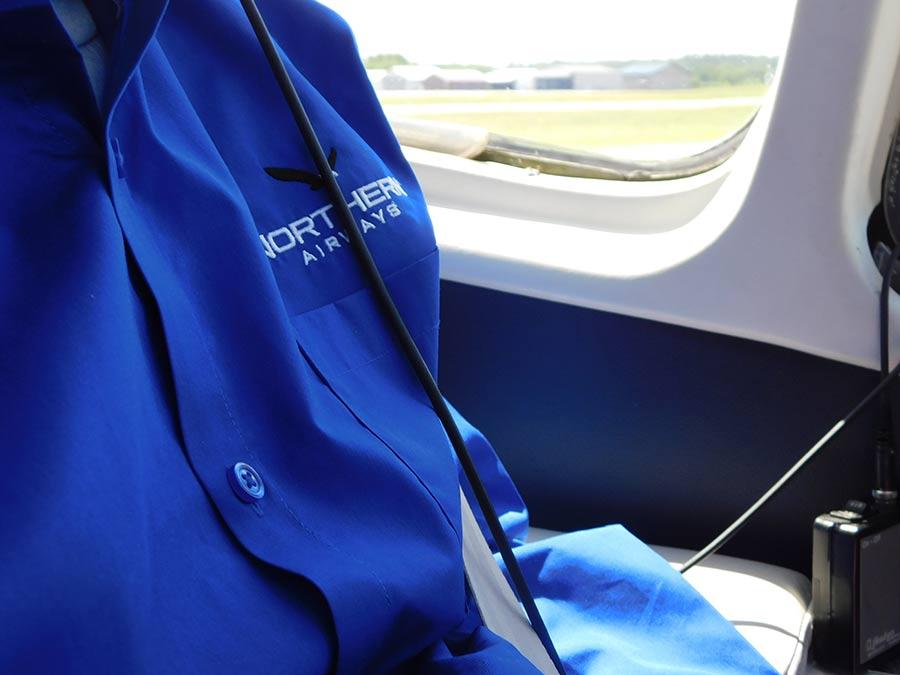 northern-airways-logo-on-charter-pilot-shirt