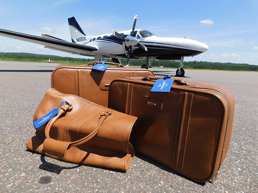 northern-airways-luggage-on-tarmac